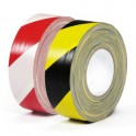 Warning Gaffer Tape 50mm x 50m