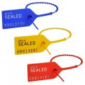 High-Flex Security Seals 190mm (with Numbering)