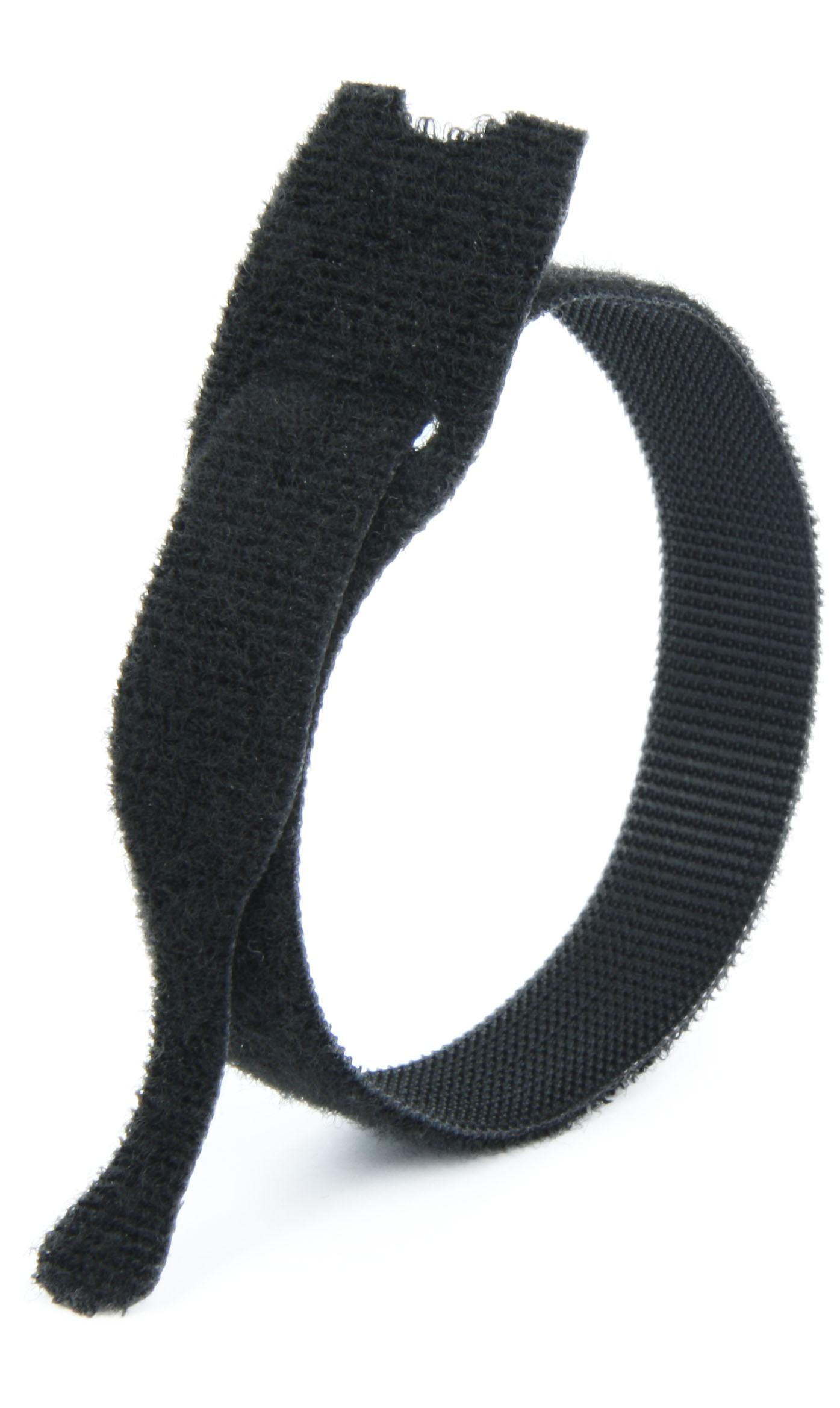 100x Câble Velcro 300 x 25 mm Bleu Câble Velcro Bande Serre-câbles velcro Oeillet